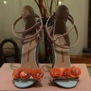 Chinese Laundry Floral Stiletto Heels - Sz. 5.5